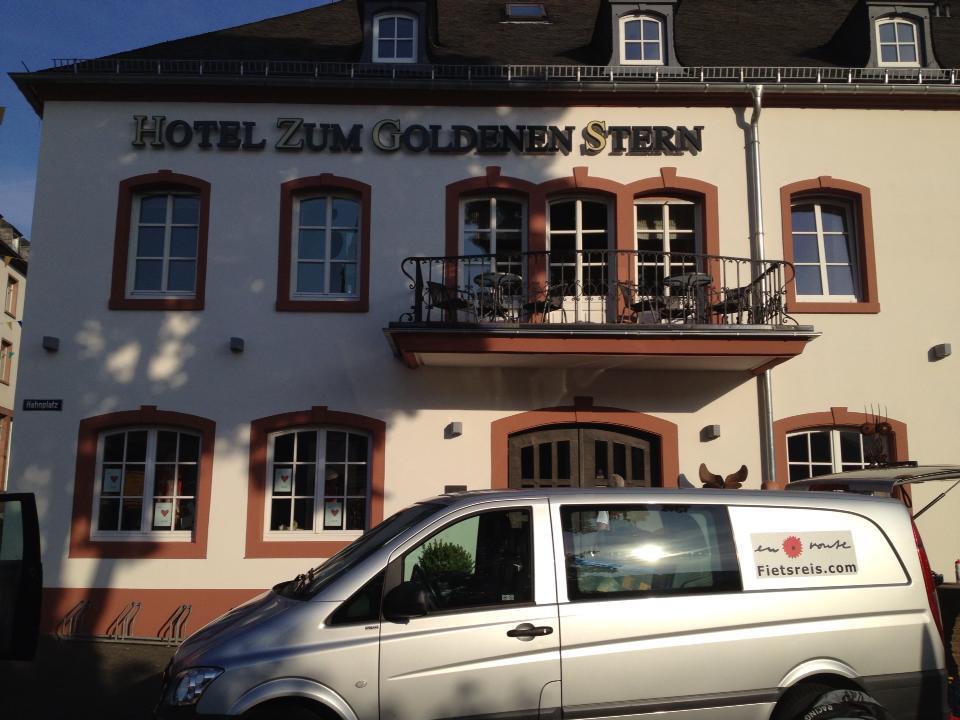 Het eerste hotel.