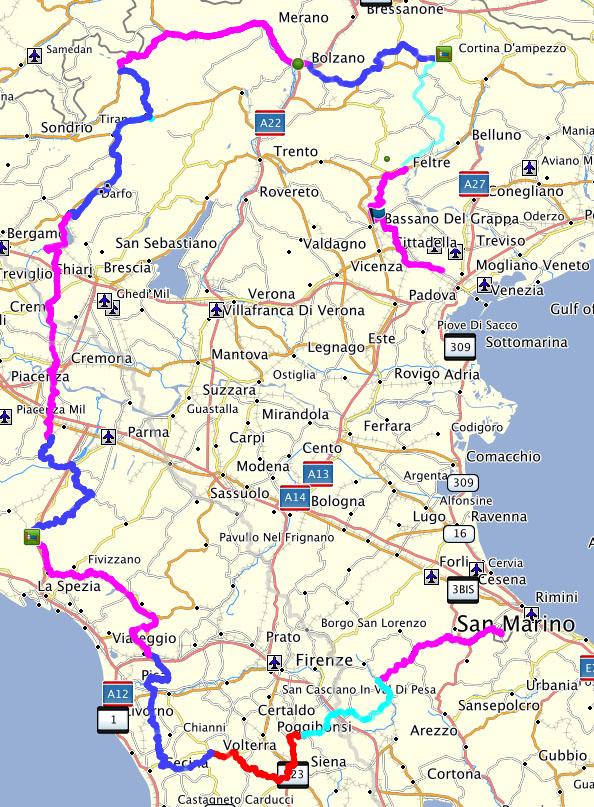 routes detail