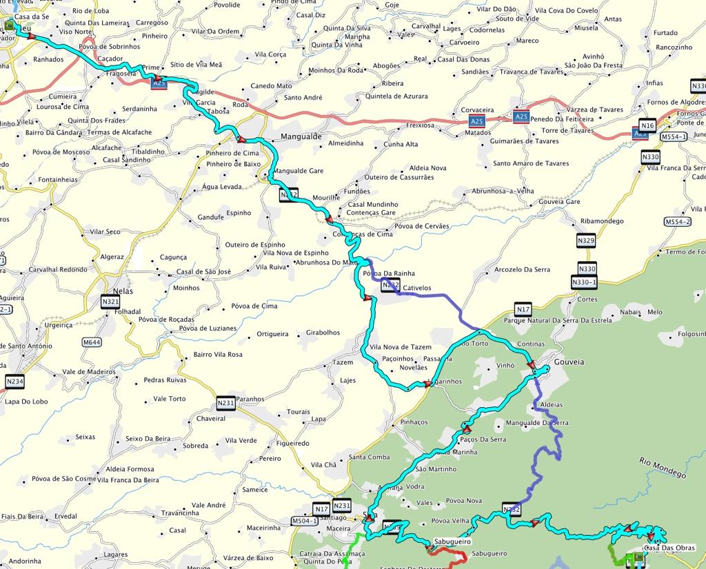 Route 4 Viseu - Manteigas_1024